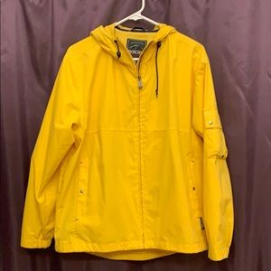 Pacific Trail Windbreaker Raincoat in Yellow